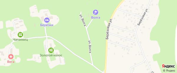 Улица Волга на карте деревни Вурманкасы (Вурман-Сюктерского с/п) с номерами домов