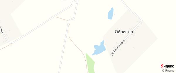 Улица Потемкина на карте деревни Ойрисюрта с номерами домов