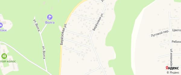 Березовая улица на карте деревни Вурманкасы (Вурман-Сюктерского с/п) с номерами домов