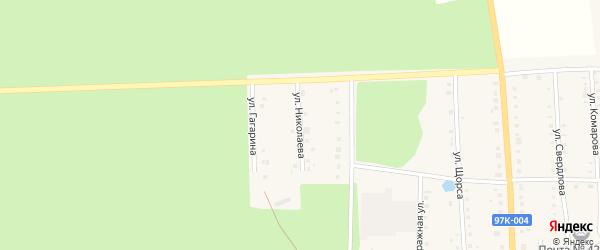 Улица Николаева на карте поселка Ибреси с номерами домов