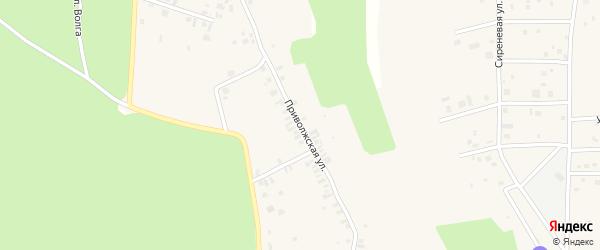 Приволжская улица на карте деревни Вурманкасы (Вурман-Сюктерского с/п) с номерами домов