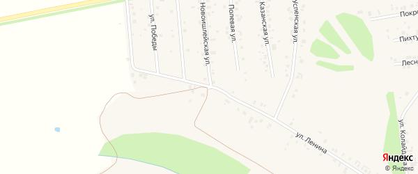 Строительная улица на карте села Ишлеи с номерами домов
