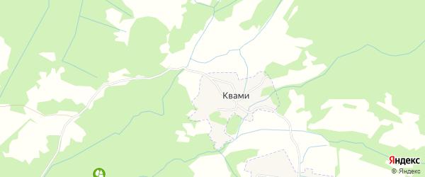 Карта села Квами в Дагестане с улицами и номерами домов