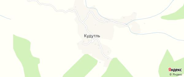 Улица Имама Шамиля на карте села Кудутля с номерами домов