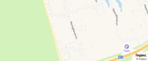 Молодежная улица на карте деревни Вурманкасы (Вурман-Сюктерского с/п) с номерами домов