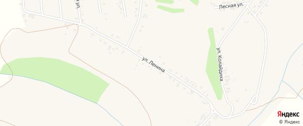 Улица Ленина на карте деревни Мускаринкасы с номерами домов