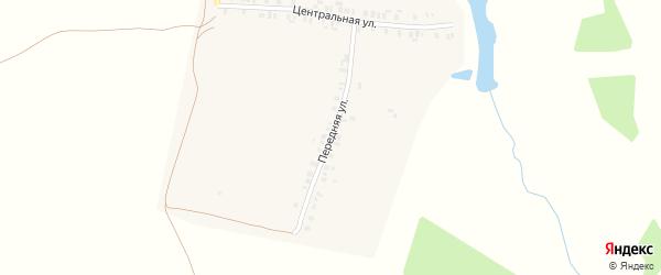 Передняя улица на карте деревни Ойкасы (Вурман-Сюктерского с/п) с номерами домов