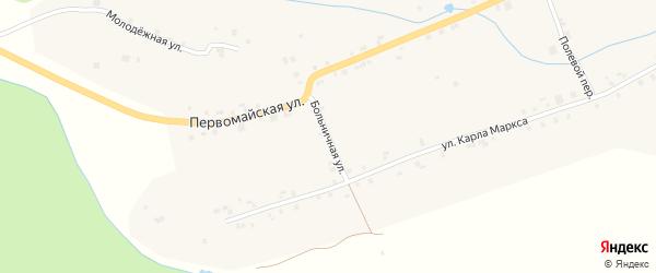 Больничная улица на карте села Старые Айбеси с номерами домов
