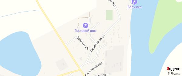 Совхозная улица на карте села Енотаевки с номерами домов