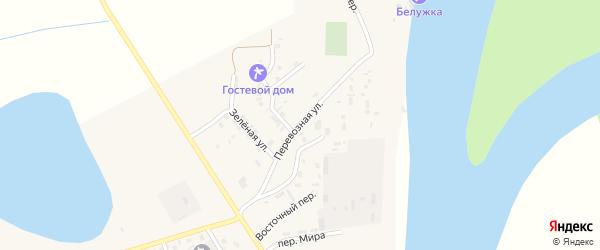 Перевозная улица на карте села Енотаевки с номерами домов