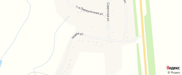 Новая улица на карте деревни Большие Котяки с номерами домов