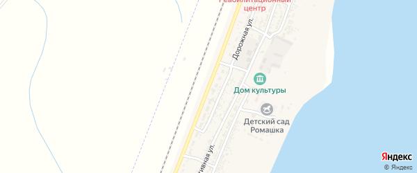 Дорожная улица на карте села Зензели с номерами домов
