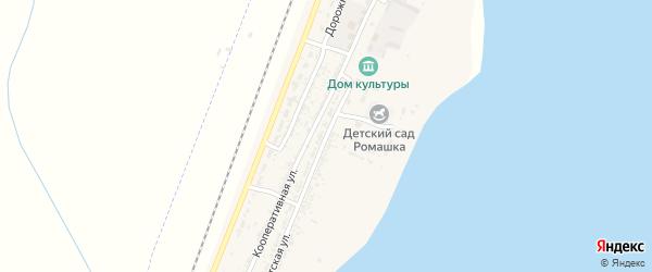 Советская улица на карте села Зензели с номерами домов