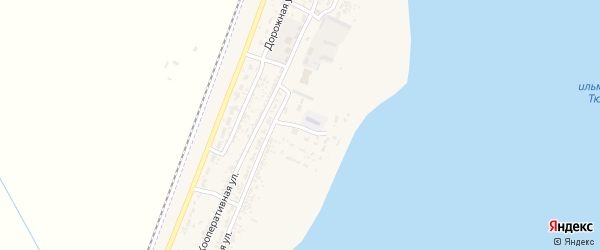 Луговая улица на карте села Зензели с номерами домов