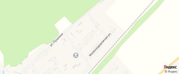 Газопроводная улица на карте поселка Ибреси с номерами домов