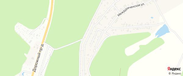 Территория сдт Чайка (Социалистическая) на карте Чебоксар с номерами домов