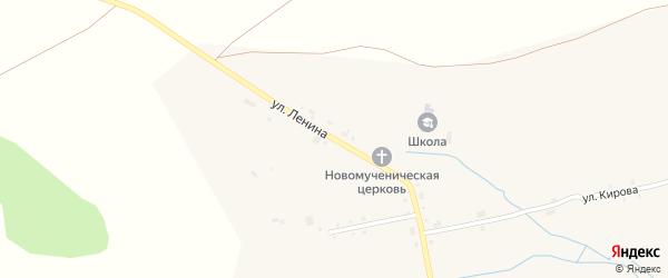 Улица Ленина на карте села Сойгино с номерами домов
