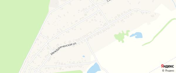 Междуреченская улица на карте деревни Чандрово с номерами домов