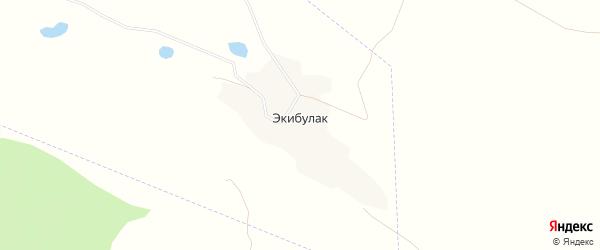 Карта села Экибулака в Дагестане с улицами и номерами домов