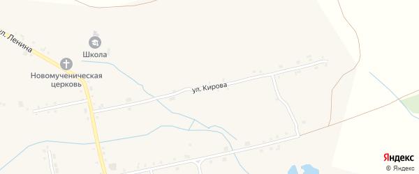 Улица Кирова на карте села Сойгино с номерами домов