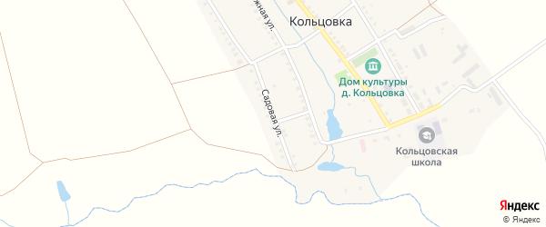 Садовая улица на карте деревни Кольцовка с номерами домов
