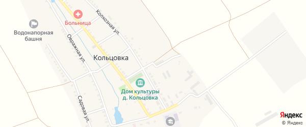 Полевая улица на карте деревни Кольцовка с номерами домов