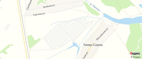 СТ Автотранспортник-2 на карте Кшаушского сельского поселения с номерами домов