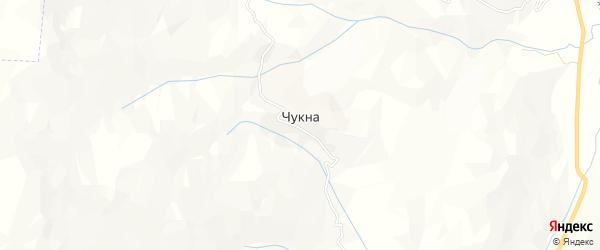 Карта села Чукна в Дагестане с улицами и номерами домов