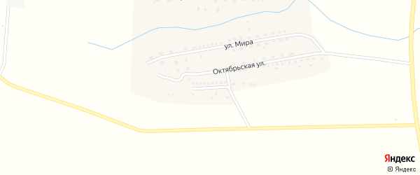 Улица Нефтяников на карте села Яндыки с номерами домов