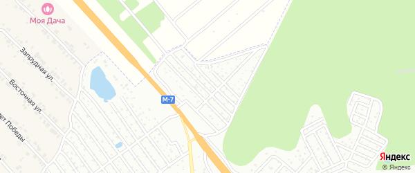 Территория сдт Ромашка на карте Чебоксар с номерами домов