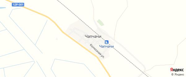 Карта поселка Чапчачи в Астраханской области с улицами и номерами домов