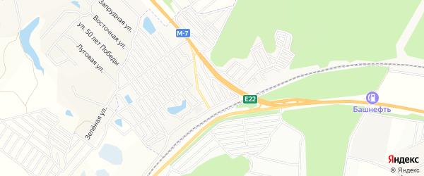 СТ Малые Черемушки на карте Чебоксар с номерами домов