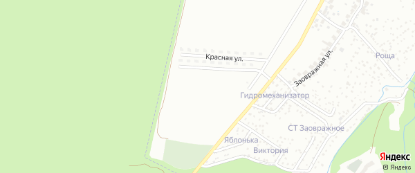 Улица Черёмушки на карте Чебоксар с номерами домов
