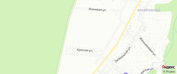 Черничная улица на карте Чебоксар с номерами домов