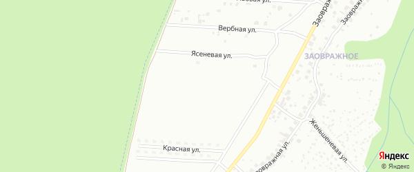 Барбарисовая улица на карте Чебоксар с номерами домов