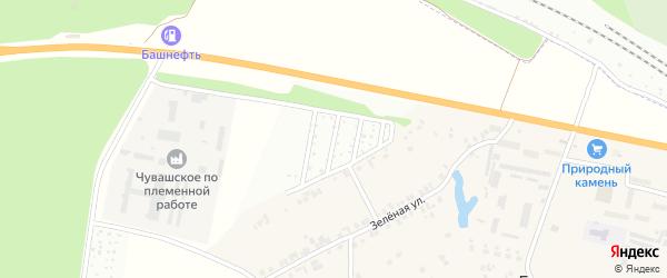 Территория сдт Радуга на карте Чебоксар с номерами домов