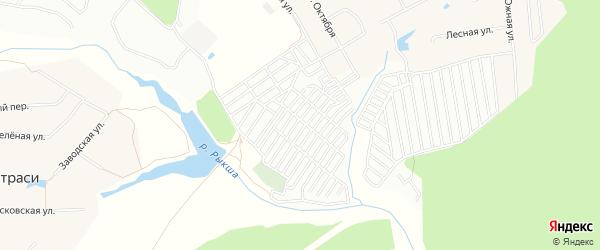 СТ Птицевод на карте Лапсарского сельского поселения с номерами домов