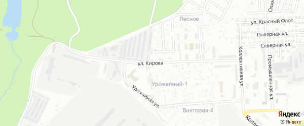Улица Кирова на карте Чебоксар с номерами домов