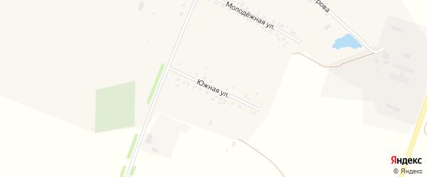 Южная улица на карте села Исаково с номерами домов