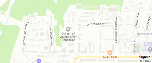Улица Ардалиона Игнатьева на карте Чебоксар с номерами домов