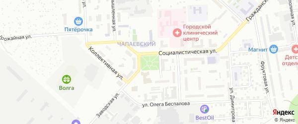 Площадь Победы на карте Чебоксар с номерами домов