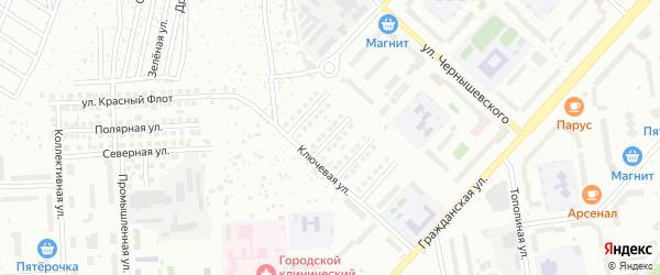 Профсоюзная улица на карте Чебоксар с номерами домов