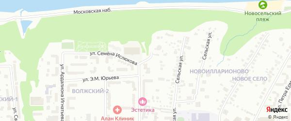 Покровская улица на карте Чебоксар с номерами домов