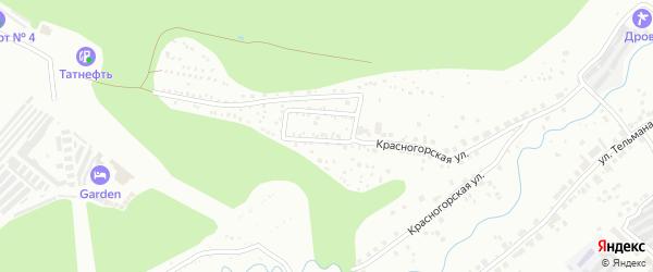 Территория сдт Хевел на карте Чебоксар с номерами домов