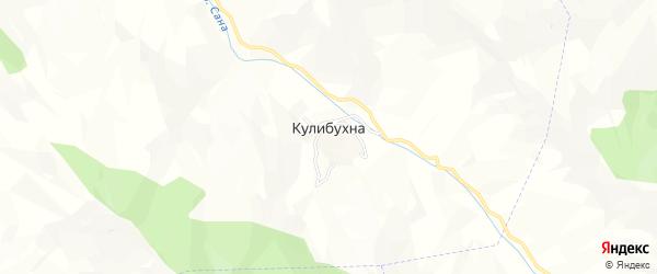Карта села Кулибухны в Дагестане с улицами и номерами домов