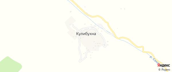 Лесная улица на карте села Кулибухны с номерами домов