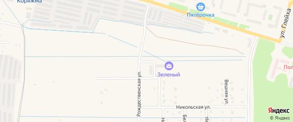 Троицкий проезд на карте Коряжмы с номерами домов