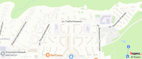 Приволжский бульвар на карте Чебоксар с номерами домов