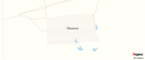 Улица Ленина на карте поселка Ленино с номерами домов