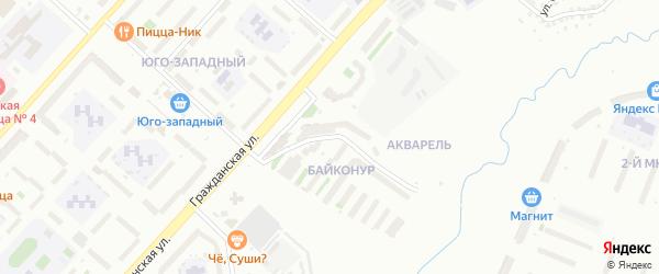 Улица Академика Королева на карте Чебоксар с номерами домов
